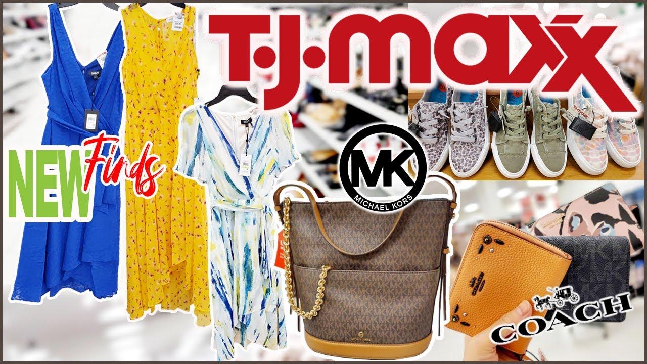 NEW FINDS!!! ** SHOP WITH ME AT TJMAXX ** HANDBAGS SHOES CLOTHES // STORE WALKTHROUGH 2021