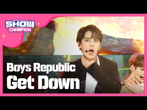 (ShowChampion EP.184) Boys Republic - Get Down