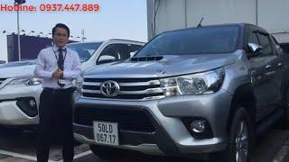 [Đã bán] Xe Toyota Hilux 2015 3.0G số sàn 2 cầu cũ bán giá tốt tại Toyota Tân Cảng