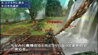 Repeat youtube video 【MHP3】農場のちょっとしたバグ?