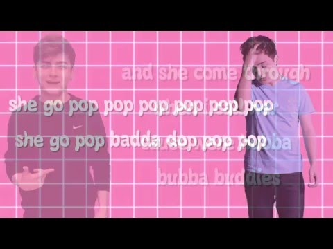 Bubblegum Girl Lyric Video || Nick Bean