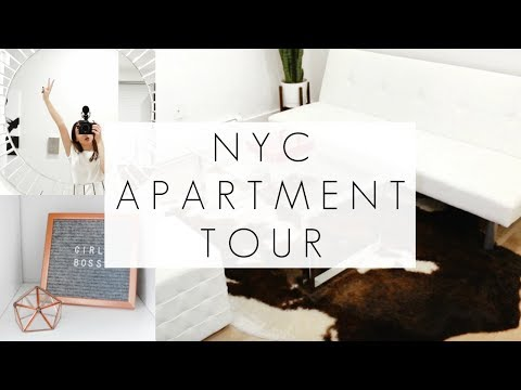 My Very Extra NYC Apartment Tour 2019 || Upper West Side of Manhattan || BeautyChickee