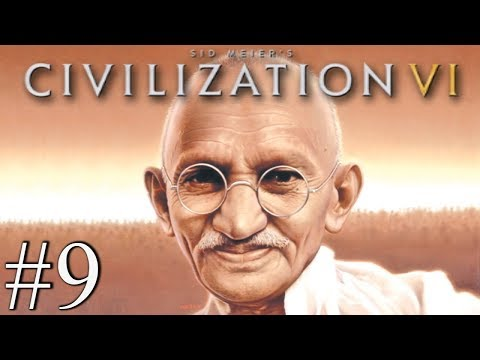 GANDHI LOVE NATION - Civilization VI - Religious Victory #9