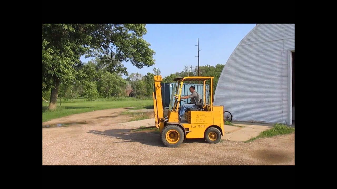 1975 Allis Chalmers ACP40PS forklift for sale | sold at auction June 25,  2014