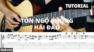Tôn ngộ không hái đào - Hướng dẫn Guitar & TAB
