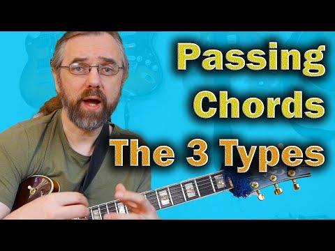 Passing Chords - The 3 Types You Need for Comping and Chord Solos