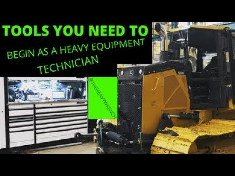 What Tools You Need To Start In Heavy Equipment Repair