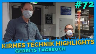 Fun fair technology highlights: Behind the scenes - Gerrit's Diary # 72