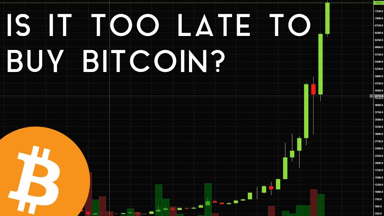 Is it too late to invest bitcoin