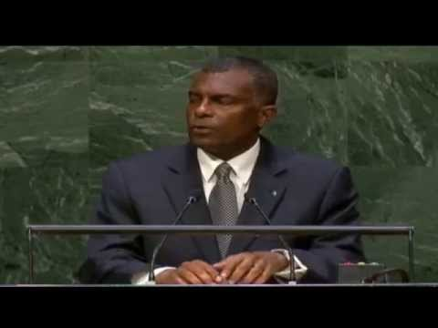 His Excellency Frederick A. Mitchell - General Assembly of the United Nations - 20140930