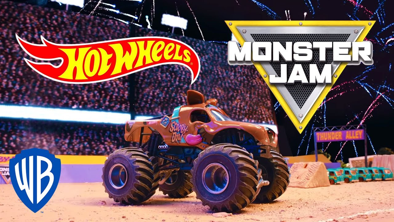 Wheels JamScooby Monster Wheels Monster JamScooby Doo JamScooby Doo Hot Monster Hot Wheels Hot DWHEI29Y