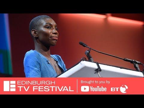Michaela Coel   James MacTaggart Lecture   Edinburgh TV Festival 2018