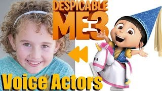 """Despicable Me 3"" (2017) Voice Actors and Characters"