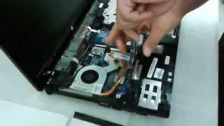 Jak rozebrat HP ProBook 4525s, vyměnit paměti, pevný disk, vyčištění větráku