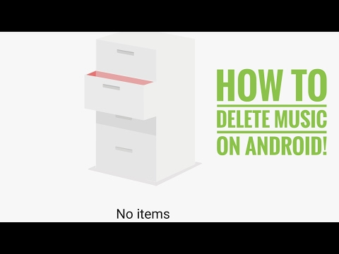 How To Delete Music From Android!