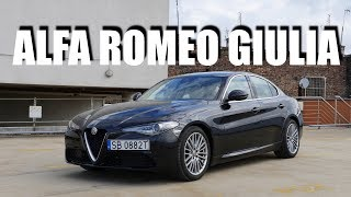Alfa Romeo Giulia Super 2.2d (PL) - test i jazda próbna