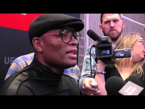 UFC London Media Day - Anderson Silva