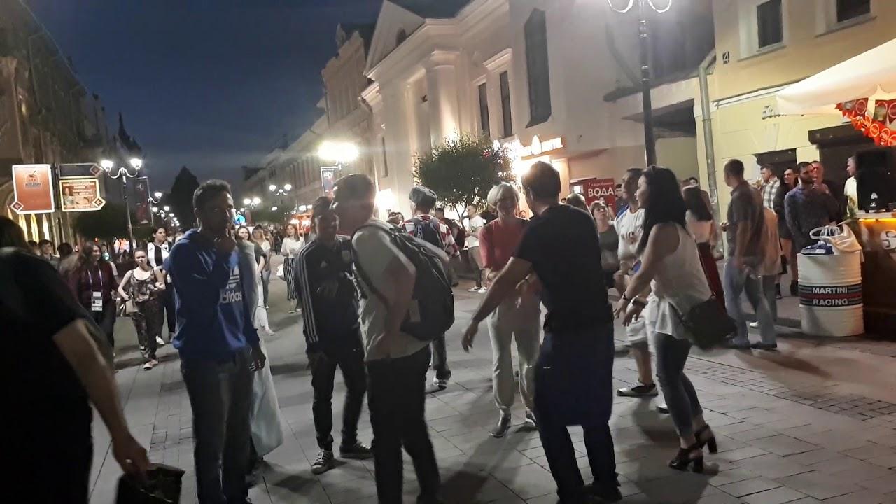 Аргентинцы зажигают на чемпионате мира в  нижнем новгороде