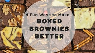 4 Fun Ways to Make Boxed Brownies Better | Yummy Ph