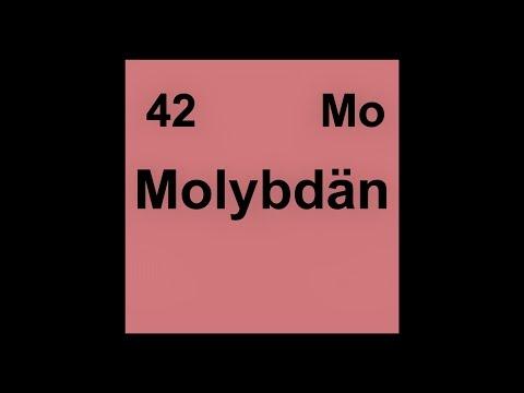 42 [Mo] Molybdän (Molybdenum)