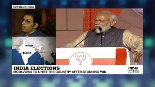 Indian PM Modi wins landslide victory in world's largest election