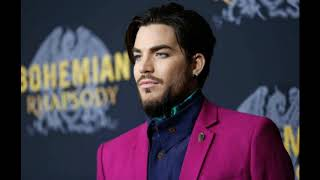 Adam Lambert at the Bohemian Rhapsody movie premiere NYC/after party, October 30