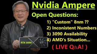 Nvidia Ampere Reveal Analysis: Short Term Domination, but is Samsung a long term problem?