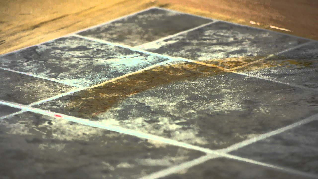 How To Remove Rust From Linoleum Tiles Lets Talk Flooring YouTube - Linoleum floor stain removal