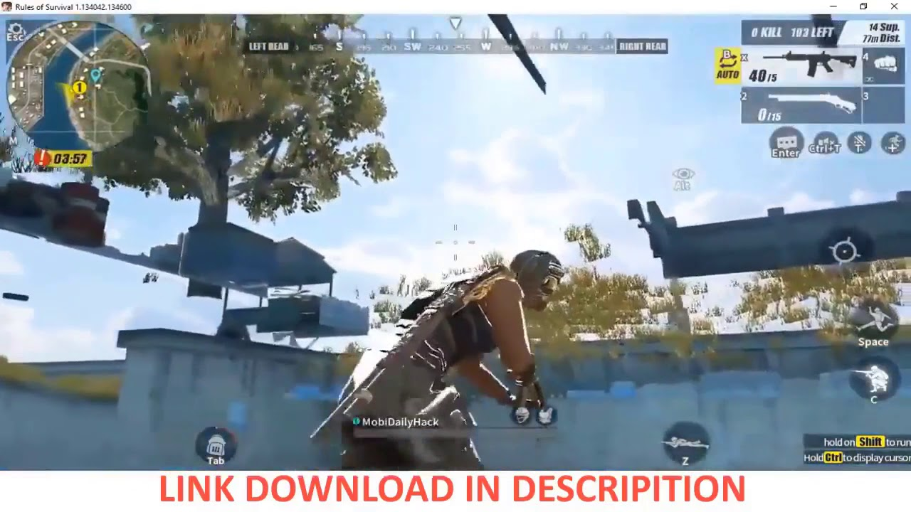 7 4 2018 ROS   hack Rules of Survival PC 6 0 Mới nhất