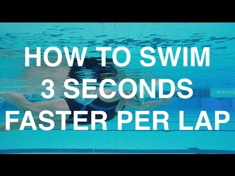 How To Swim 3 Seconds Faster Per Lap