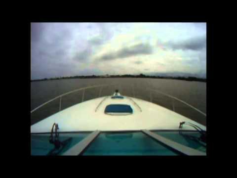 Boat Ride from Cedar Point into Sandusky Bay Turn Basin