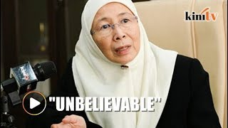 PKR president Dr Wan Azizah Wan Ismail said that the allegations by...