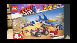 "Mister Max Attack - Building ""The LEGO Movie 2"" Legos *fast motion* / Видео"