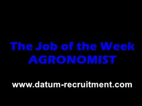 JOBS IN AFRICA - AGRONOMIST