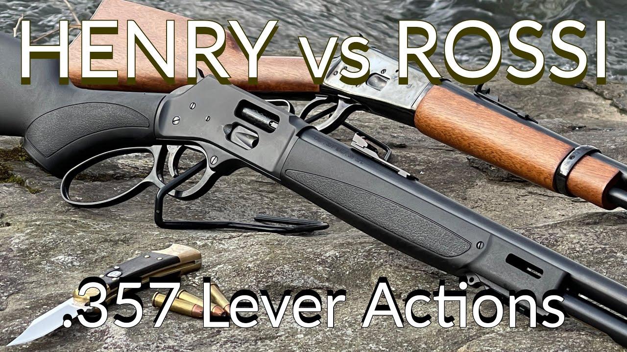 Henry Big Boy X vs Rossi R 92