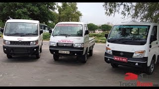 Mini Trucks Comparison - Tata Ace XL vs. Mahindra Supro vs. Maruti Suzuki Super Carry