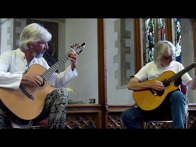 Gordon Giltrap and Nick Hooper play Basement Rag