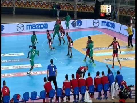 Egypt vs Nigeria - 22nd African Men's Handball Championsh