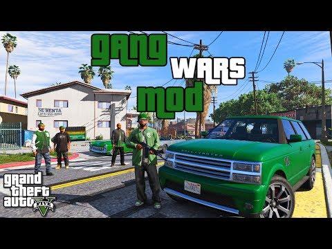 GTA 5 МОДЫ: GANG WARS MOD GTA 5. ВОЙНЫ ГАНГСТЕРОВ В ГТА 5 МОДЫ. УСТАНОВКА И ОБЗОР МОДА