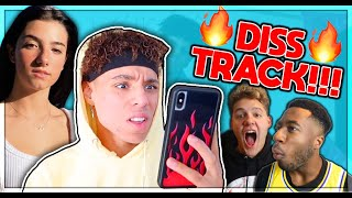 "Larray ROASTS EVERYONE On ""Canceled"" DISS TRACK! (Charli, Bryce Hall, Tony Lopez) - Reaction"