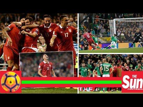 Republic of ireland 0-1 serbia: kolarov delivers blow