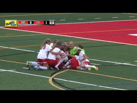 9-29-16 High Point vs. Lenape Valley Girls Soccer