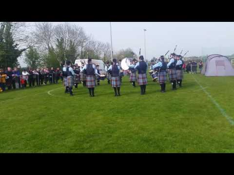 New Ross & District Pipe Band - Grade 3A - Medley Fingal 2016