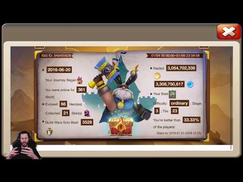 Castle Clash Review 2019 + Hero Collector