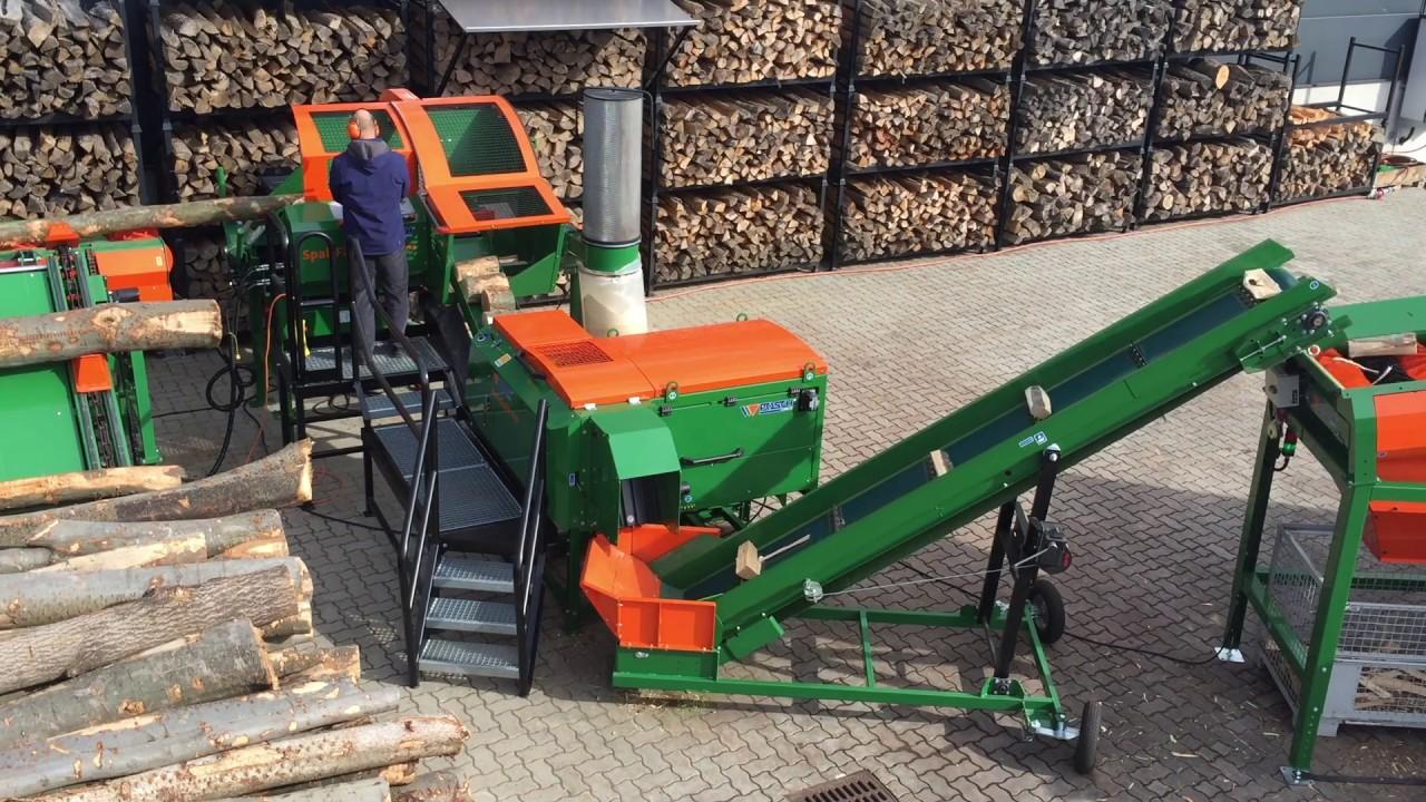 Automatic firewood processor SpaltFix S 20   POSCH Leibnitz