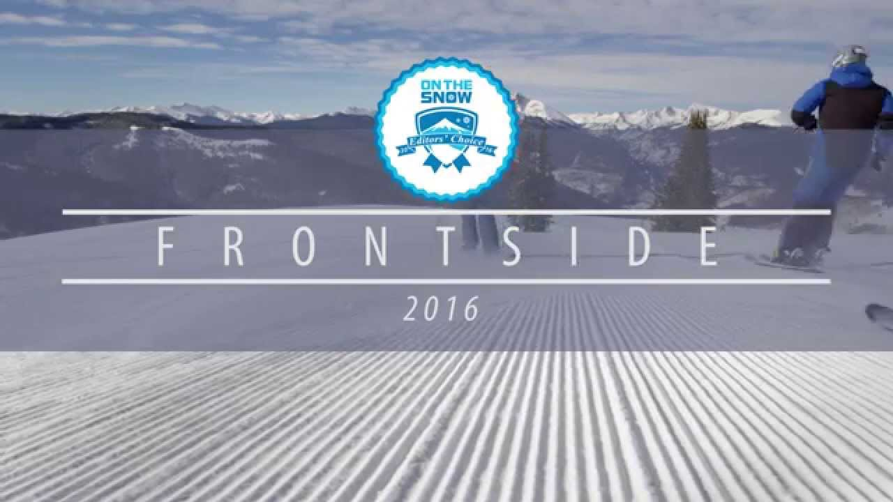 OnTheSnow Editors' Choice Skis: 2015/2016 Women's Frontside