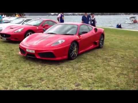 2015 Ferrari Club of Australia Concours