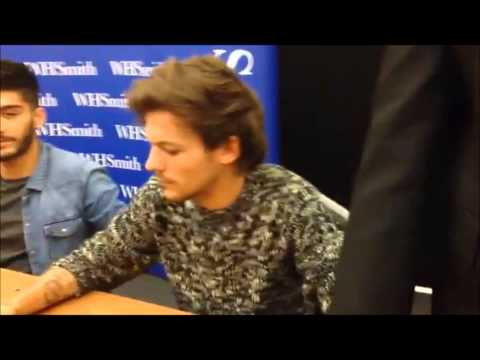 When I Met One Direction And Held Liam's Hand | One Direction Book Signing 18/11/2013