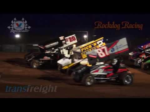 International Rumble A Main - Valvoline Raceway - Rockdog Racing Videos
