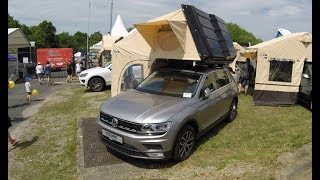 VW TIGUAN - NEW MODEL 2017 AUTO CAMP ! TRAVEL DE LUXE ! WALKAROUND !  MOBILE CAMPER !